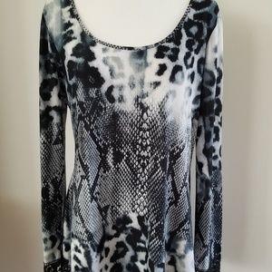 Milano Animal & Snake Print Shirt Large